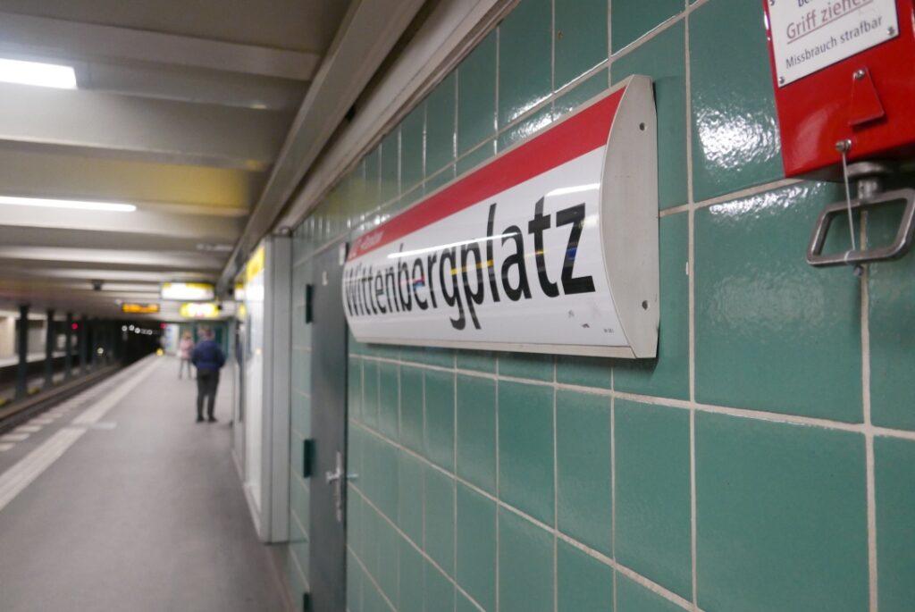 Wittenberg Platz Metro Station