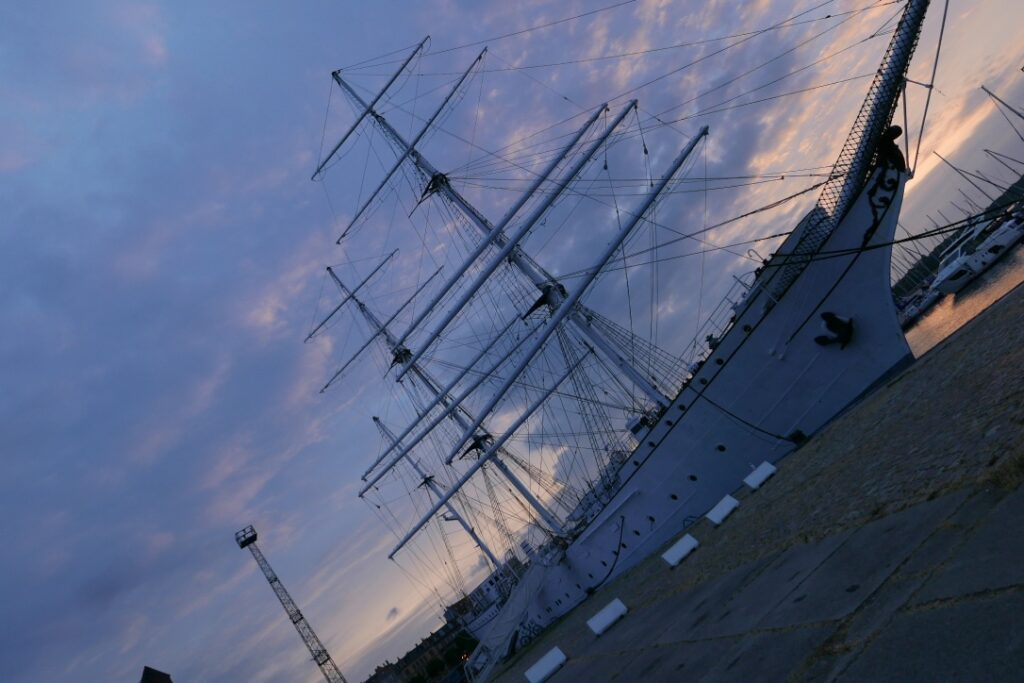 Ship port on the Harbor