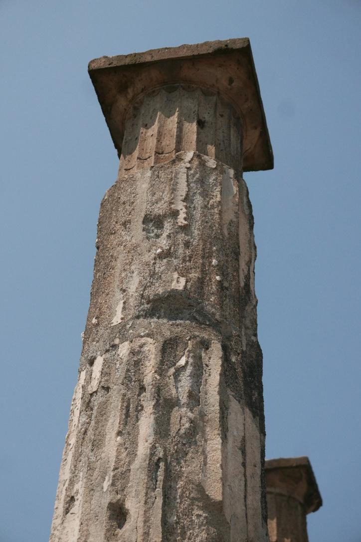 Roman Column from Pompeii