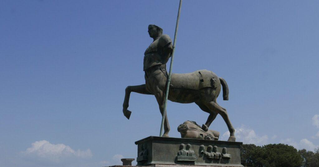 Statue in the main square