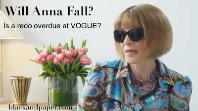 Vogue head Anna Wintour