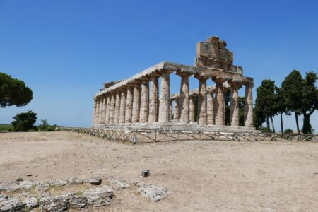 The Ancient Greek Temple in Italy